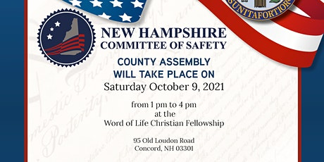 1st Official NH Assembly for ALL NH State Citizens tickets
