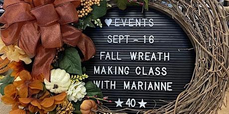 Fall Wreath Making Class tickets