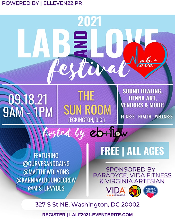 2021 LAB and LOVE Festival image