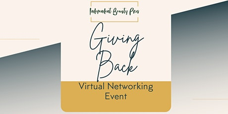 Independent Beauty Pros Virtual Networking benefiting a Non Profit tickets