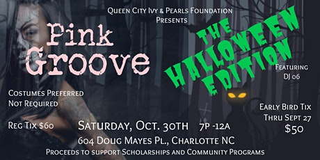 Pink Groove: The Halloween Edition tickets
