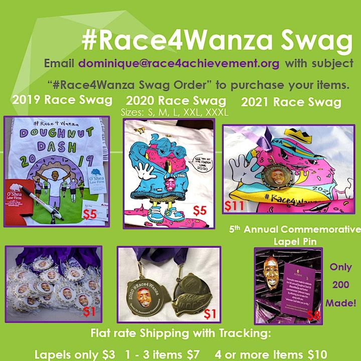 Doughnut Dash 5k 2022 #Race4Wanza image