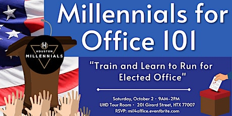 Millennials 4 Office 101 - Train & Learn To Run For Elected Office tickets