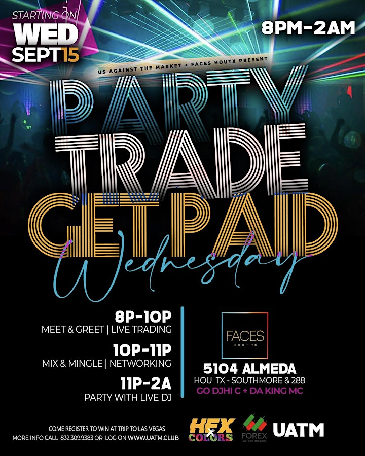 PARTY TRADE GET PAID WEDNESDAY image