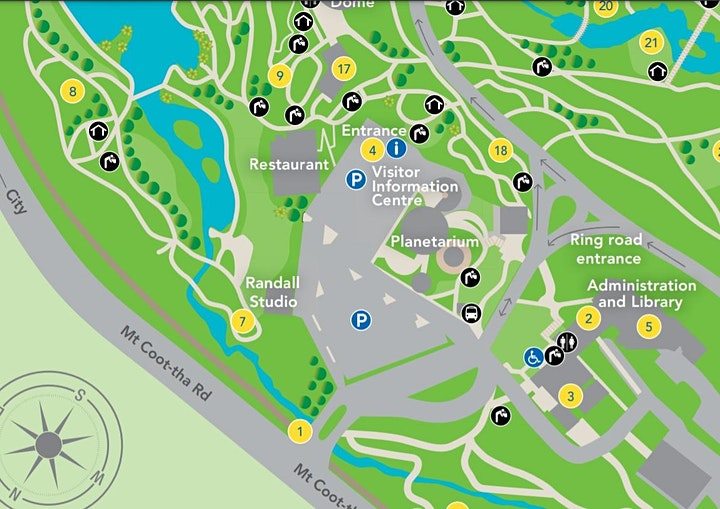 GSHS Mt Coot-tha Botanical Gardens what's living in the gardens 5 - 10 yrs image