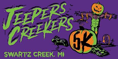 Jeepers Creekers Costumed Fun Run & 5K tickets