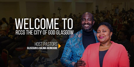 RCCG, The City of God Glasgow In-Person Church Service Registration(ADULTS) tickets