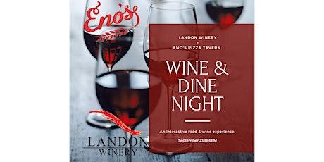 Eno's & Landon Wine Dinner Pairing tickets