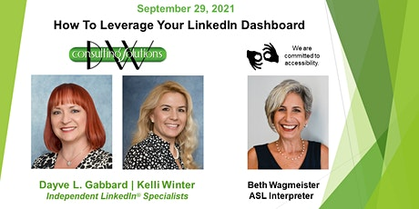 How To Leverage Your LinkedIn Dashboard Tickets
