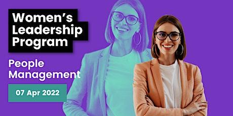 Women's Leadership Program: People Management tickets