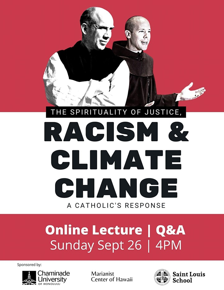 Marianist Lecture - A Spirituality of Justice: Racism and Climate Change image