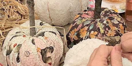 No Sew Fabric Pumpkins tickets