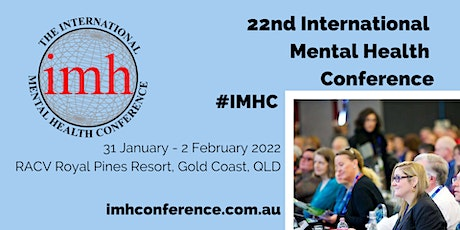 22nd International Mental Health Conference tickets
