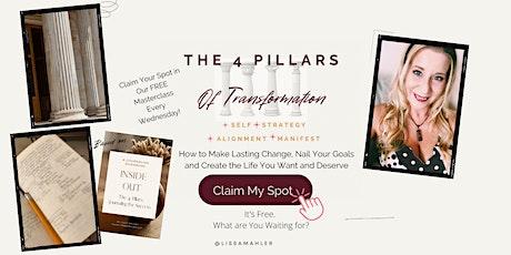 The 4 Pillars of Transformation tickets