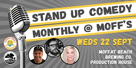 Stand Up Comedy @ Moffat Beach Brewing Co tickets