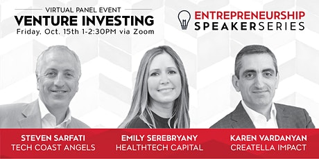CSUN Entrepreneurship Speaker Series: Venture Investing tickets