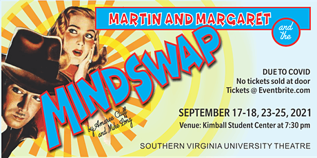 """""""Martin and Margaret and the Mindswap"""" tickets"""
