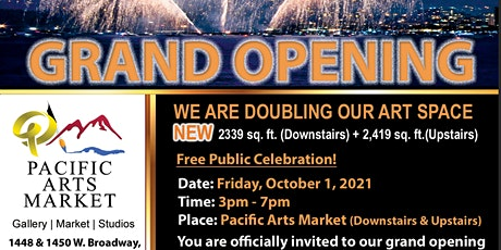 The Gallery Grand Opening tickets