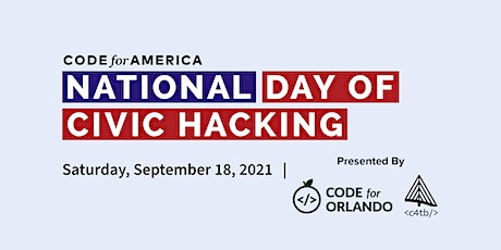 Orlando & Tampa National Day of Civic Hacking 2021 tickets