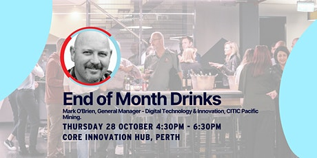 CORE Innovation Hub End of Month Industry Drinks tickets