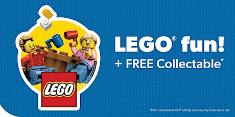 LEGO® Fun Zone these holidays tickets