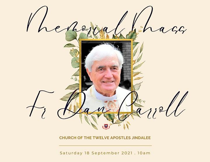 Memorial Mass - Fr Daniel Carroll image