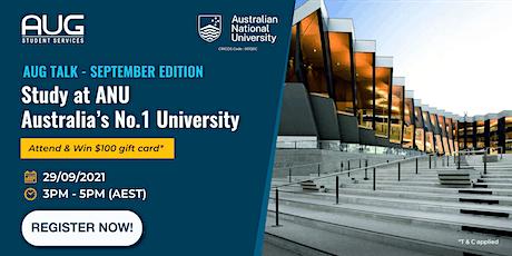 [AUG Talk] Australian National University Virtual Information Session tickets