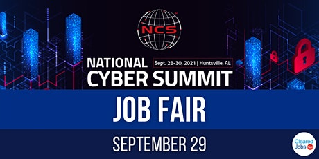 National Cyber Summit Job Fair tickets