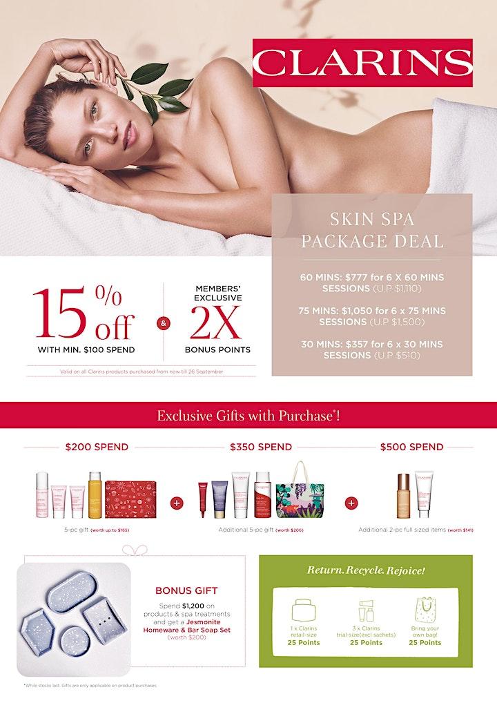 Clarins Skin Spa Night 2021 image