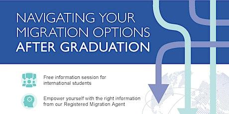 Navigating Your Australian Migration Options After Graduation tickets