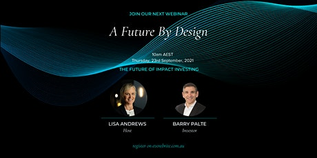 A Future By Design - The Future of Impact Investing tickets