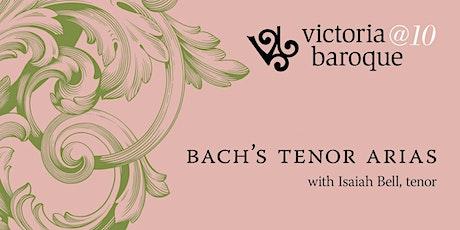 Bach's Tenor Arias tickets