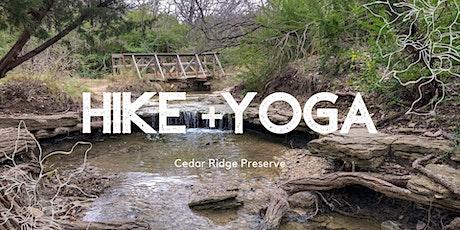 Hike x Yoga tickets