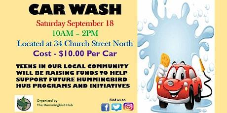 Car Wash tickets
