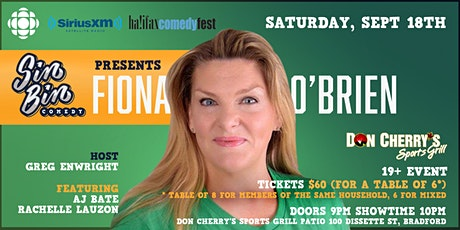 Sin Bin Comedy Show #54 with Fiona O'Brien tickets