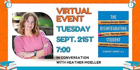 Lark & Owl Virtual Event: Conversation with  Author Dr. Jeannine Jannot tickets