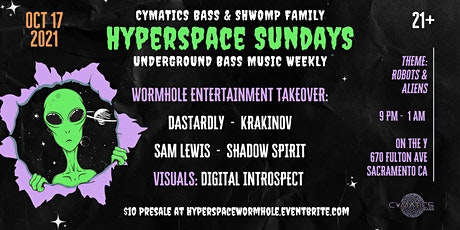 Hyperspace Sundays Wormhole Takeover tickets
