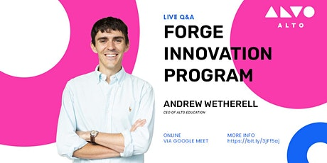 Forge Innovation Program - Live Q&A tickets