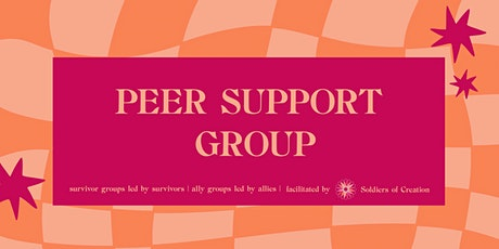 Fundraiser Peer Support Groups tickets