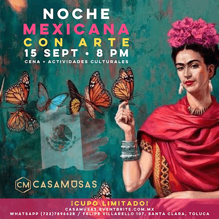 Imagen de Noche Mexicana • Cena + Cultura