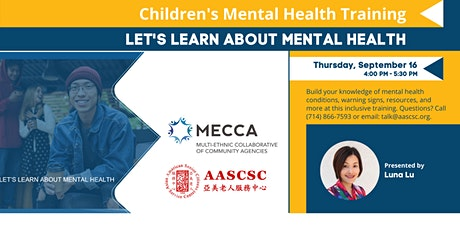 Let's Learn About Mental Health: Discussion with Teens tickets