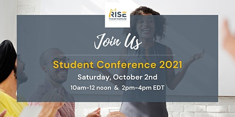 RISE Travel Institute Student Conference 2021 biglietti