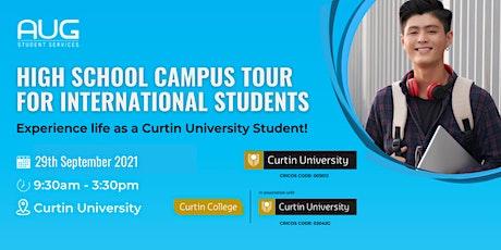 [AUG Perth] High School Curtin Campus Tour tickets