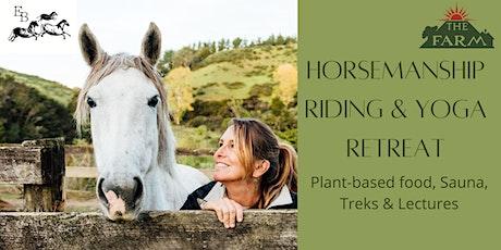 Horsemanship Riding & Yoga Retreat tickets
