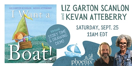 Story Time & Drawing Lesson:  I Want a Boat! tickets