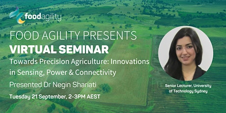 Towards Precision Agriculture: Innovations in Sensing, Power & Connectivity tickets