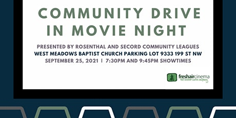Community Drive In Movie Night (Secord and Rosenthal Community Leagues) tickets