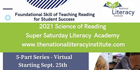 Science of Reading Super Saturday Literacy Academy tickets