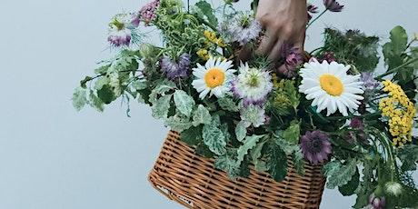 Halloween Special - Flower Basket Arrangement Workshop tickets
