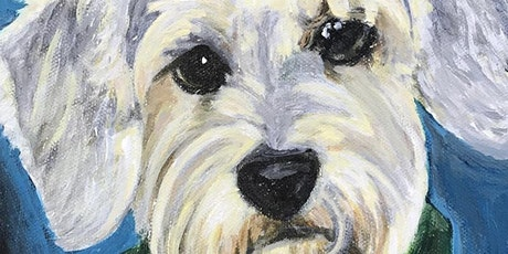 Pet Portrait Paint Night for Adopt a Homeless Animal Rescue tickets